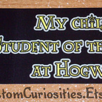 My Child is student of the month at Hogwarts by CustomCuriosities