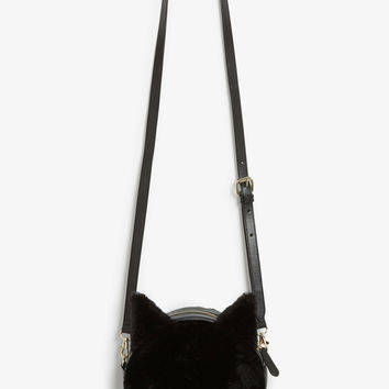 Monki | Style crush | Faux fur cat bag