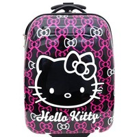 "Hello Kitty Bow 16"" ABS Luggage"