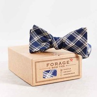 FORAGE Haberdashery Deadstock Plaid Bow Tie- Assorted One
