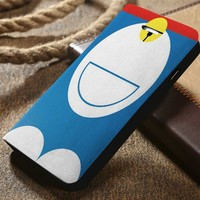 Doraemon Custom Wallet iPhone 4/4s 5 5s 5c 6 6plus 7 and Samsung Galaxy s3 s4 s5 s6 s7 case