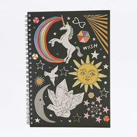 Celestial A5 Notebook - Urban Outfitters