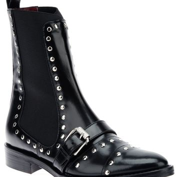 Opening Ceremony Studded Saddle Boot