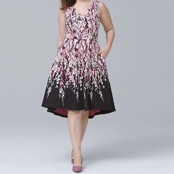Party FLower Dress for Beautiful Plus Sizes