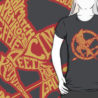 Typographic Mockingjay