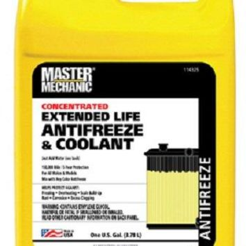 Master Mechanic MEA003 Extended Life Antifreeze & Coolant, Gallon