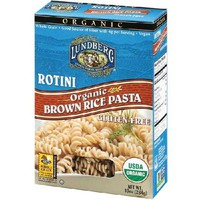 Kosher Lundberg Farms Rotini Brown Rice Pasta (12x10 Oz)