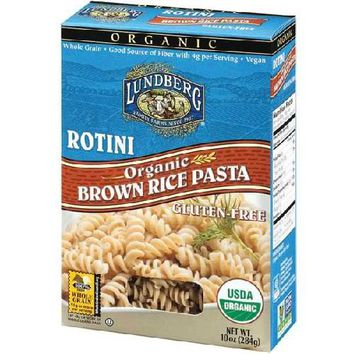 Lundberg Farms Rotini Brown Rice Pasta (12x10 Oz)