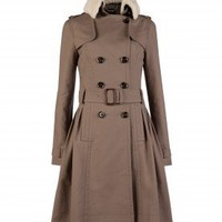 SALE - Double breasted cotton coat - YANNI - Ted Baker
