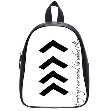Liam One Direction Arm Tattoos School Backpack Large