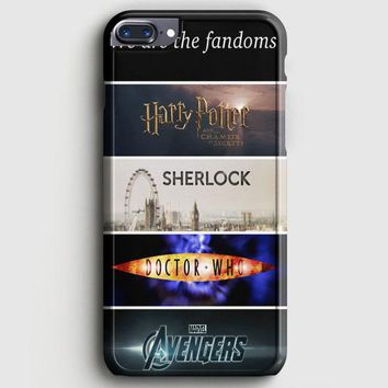 Fandoms Harry Potter Sherlock Doctor Who Avengers iPhone 8 Plus Case | casescraft