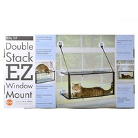 K&H Kitty Sill  Double Stack EZ window Mount