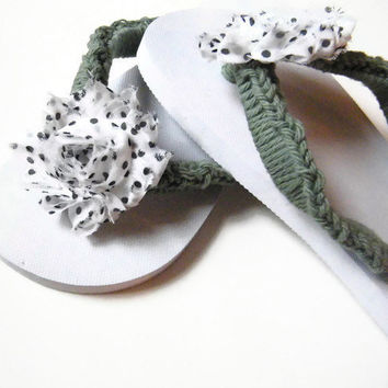 Ladies Flip Flops, Womens Flip Flop Sandals, Crochet Flip Flops, Summer Accessory