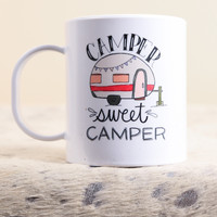 Sweet Camper Mug | The Scribble Studio