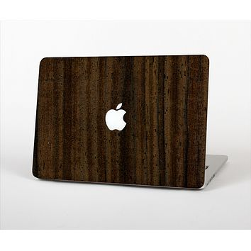 "The Black Grained Walnut Wood Skin Set for the Apple MacBook Pro 13"" with Retina Display"