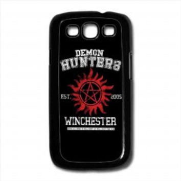 supernatural demon hunters for samsung galaxy s3 case