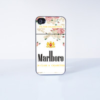 MarlBoro  Plastic Phone Case  for Apple iPhone 4 4s 6 6 Plus  5 5s 5c
