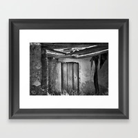 the forgotten secrets of the mountain house in ruins Framed Art Print by Guido Montañés