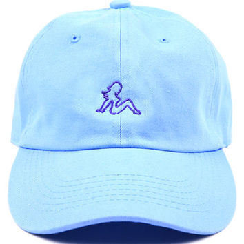 Girl Low Profile Sports Cap - Blue