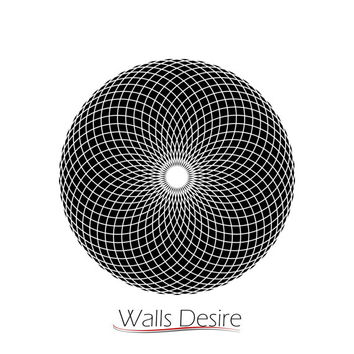 Crop Circle, Torus Wormhole, Sacred Geometry, vinyl decal, J00195.