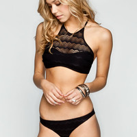 Volcom Beat Street Full Bikini Bottoms Black  In Sizes