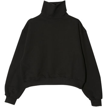 Oversized High Neck Pullover