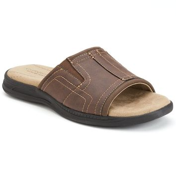 Croft & Barrow Men's Slide Sandals