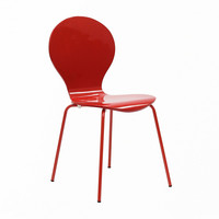 Spaceship Chair in Red