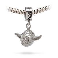 Star Wars Yoda Charm Bead
