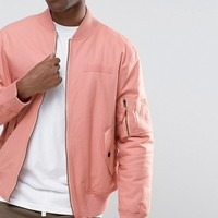 The New County Bomber Jacket at asos.com