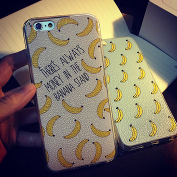 Retro Banana Case Cover for iPhone 5s 6 6s Plus Gift 250