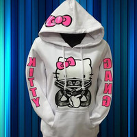 Kitty Gang Hoodie Kitty Gang Hoodie Sweatshirt for women for women