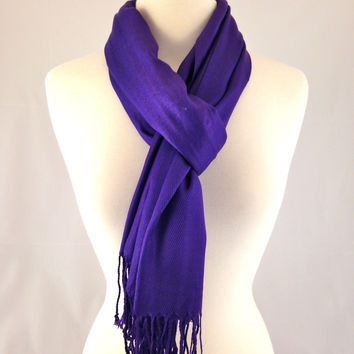 Royal Purple Pashmina
