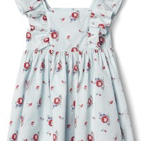 Floral flutter dress | Gap