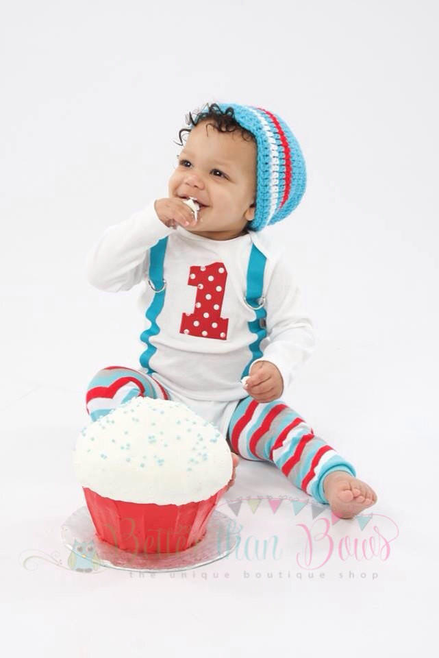 Boys First Birthday Outfit M2m Winter From Better Than Bows