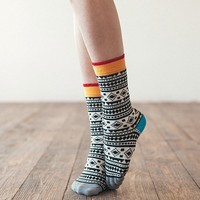 Chamanes Striped Socks by Sammy Icon