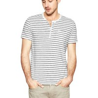 Gap Men Thin Striped Henley