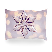 """Sylvia Cook """"Starbright"""" Holiday Oblong Pillow"""
