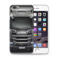 Best Scania Saab Truck Fit Hard Case For iPhone 6 6s 7 8 Plus X Cover +
