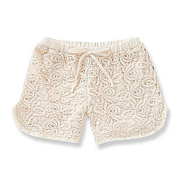GB Girls 7-16 Shoe Lace Crochet Shorts | Dillards.com
