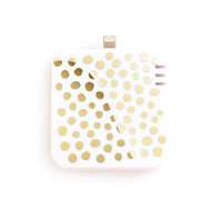back me up! mobile charger - petite party dots