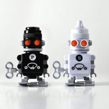 So into this design on Fab! Salt And Pepper 'Bots #FabForAll