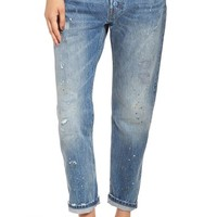 Levi's® '501® CT' Distressed Boyfriend Jeans (Darn and Dusted) | Nordstrom