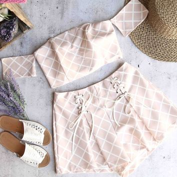 when in rome - two piece set - blush