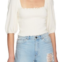 1.STATE Voluminous Sleeve Top | Nordstrom