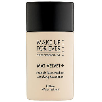 Mat Velvet + Mattifying Foundation - MAKE UP FOR EVER | Sephora
