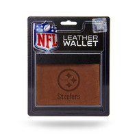 Pittsburgh Steelers Leather Embossed Trifold Wallet