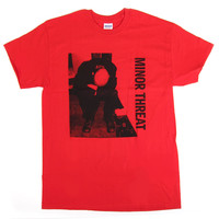 Minor Threat: LP Shirt - Red
