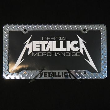 METALLICA.com | Store | License Plate Frame
