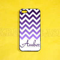 iPhone 5s Case, iPhone 5 Case, Cute Chevron Pattern with Monogram iPhone 5 Case  iPhone 5, iPhone 5c Case, Unique iPhone 5c Case